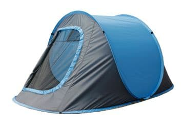 2 MAN PERSON POP UP TENT camping hiking festival instant opening caravan